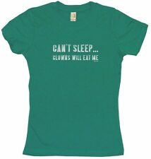 Can't Sleep Clowns Will Eat Me Womens Tee Shirt Pick Size Color Petite Regular