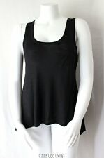 INC Black One Pocket Fit & Flare Hi/Lo Tank XL/L ~ NWOT