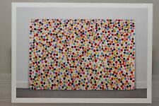 "DAMIEN HIRST: ""Spot Painting"" limited Art-Postcard (exhibition)  NEW"