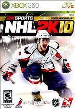 Xbox 360 NHL 2K10 VideoGames