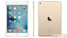 "7.9"" Apple iPad Mini 4  Wifi + Cellular 4G LTE Gold 16GB AU WARRANTY Tablet"