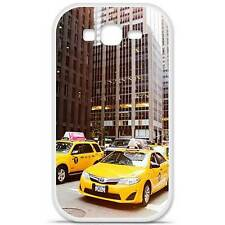 Coque housse étui tpu gel motif ny taxi Samsung Galaxy Grand / Grand Plus