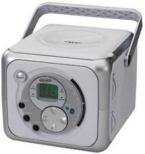 Jensen CD-555 Portable Bluetooth Stereo Music System with CD Player - Silve Misc