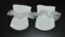 American Girl Doll Journey Girl Our Generation 18 Dolls Clothes White Lace Socks