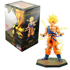 Dragon Ball Z Super Saiyan Goku Son Gokou Boxed PVC Action Figure Model Toy
