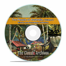 Australia Vol 2, People Cities Towns, History and Genealogy 165 Books DVD CD B30