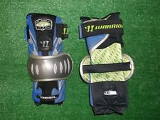 New Warrior Lacrosse MPG Series Arm Elbow Guards 5.5 Ultralight Royal Blue Large