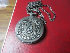 Harry Potter Slytherin  Pocket Watch Pendant