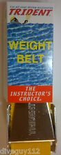Scuba Diving Dive Weight Belt 58in Equipment S/S Yellow WB26