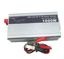 New 1000W Auto Car Power Inverter USB Converter DC 12V To AC 220V - 240V Adapter