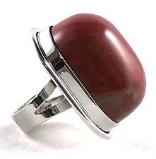 Saint Laurent Red Jasper Cherry Ring size 7 $595 YSL