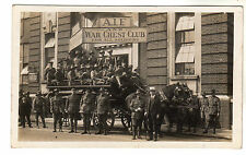 Australian Imperial Force - Real Photo Postcard 1919 Possibly Horseferry Road