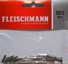 Fleischmann 22213 - 50 x Rail Joiners (fishplates) for N Gauge - 1st Class Post