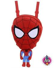 MARVEL SPIDERMAN PLUSH SOFT TOY SCHOOL BACKPACK SHOULDER SCHOOL BAG