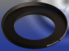 46-67mm M-F Filter Adaptor Ring Converts 46mm lens thread to 67mm 46-67 Step-Up