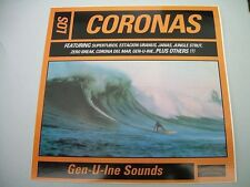 LP LOS CORONAS GEN-U-INE SOUNDS  SURF SEX MUSEUM