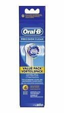 Braun Oral-B 4 Precision Clean Replacement Toothbrush Heads X 4