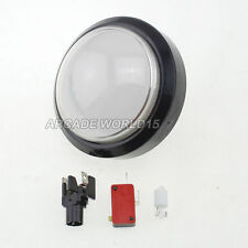 1x 4 Inch Dome LED Illuminated Push Buttons For Arcade Pop'n Music Games 5 Color