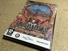 * PC NEW SEALED Game * FINAL FANTASY XI 9 ONLINE TREASURES OF AHT URHGAN * fr