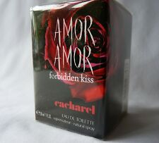 Brand New CACHAREL AMOR AMOR Forbidden KISS EAU DE TOILETTE, 30 ML