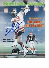 Earl Cooper San Francisco 49ers Signed 8x10 Photo