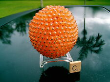 Vintage Pinned Jeweled Fruit Orange (C) Take A Look