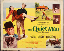 "THE QUIET MAN JOHN WAYNE   MOVIE POSTER 8""X6 METAL  PLAQUE"