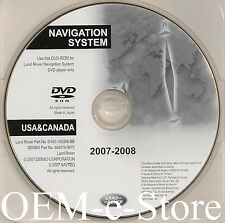 2007 2008 2009 Land Rover Range Rover Navigation DVD Map United states & Canada