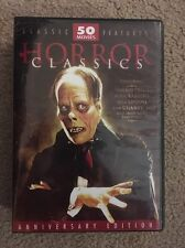 Horror Classics 50 Movie Pack DVD 12-Disc Set