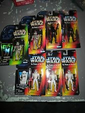 Star Wars POTF2 Figure/Kenner 1995/Orange Card Lot Of 9 5 Stormtroopers and more