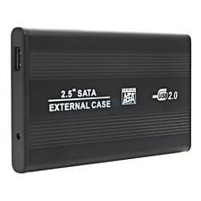 "Durable PC 2.5"" USB 2.0 500 GB SATA External HDD Hard Drive Enclosure Disk Case"