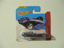 2014 Hot Wheels 1:64 F1 Racer car blue - Code 3 potential? - NEW Diecast