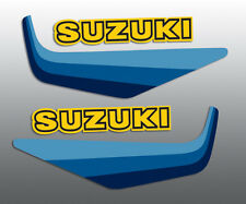 SUZUKI 1982 RM80 TANK DECALS STANDARD(SEE OUR WICKED TOUGH FOR ADDED DURABILITY)