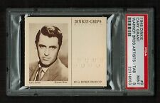 PSA 9 CARY GRANT 1948 Dinkie Grips Card #9 COMPLETE WITH TAB