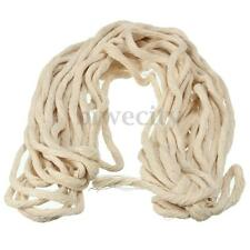 10M(33 ft) 2-3mm Braided Cotton Core Candle Making Wick For Oil or Kerosene Lamp