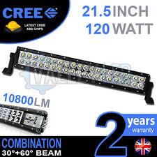 "20 "" 120 w cree led light bar combo IP68 XBD conduite en alliage léger Bateau Off Road 4WD"