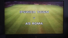 Ipswich Town 3-1 AS Roma 1/32 final Uefacup 1982/83 on DVD, Falcao, Conte
