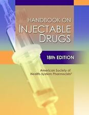 NEW - Handbook on Injectable Drugs