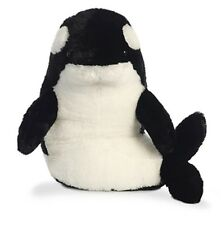 "18"" Domino Orca Whale Hugster Plush Stuffed Animal Toy - New"