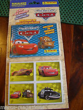 PANINI DISNEY PIXAR CARS RADIATOR SPRINGS MINI STICKER ALBUM BOOK COMPLETE 60