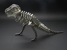 T-Rex dinosaur model puzzle kit stainless steel metal Tyrannosaurus trex model