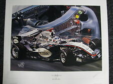 Litho The Silver Dream Collection by Hesselbes McLaren Mercedes MP4/20 2005 (JS)