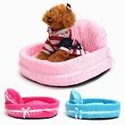 Soft Lace Pet Dog Puppy Cat Nest Kennel Comfortable Warm Bed Mat Cozy 3 Colors