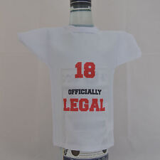 Bottle T-Shirt ideal gift for 18th Birthday