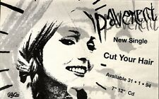 29/1/94PGN30 PAVEMENT : CUT YOUR HAIR SINGLE ADVERT 7X11""