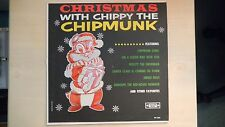 CHRISTMAS WITH CHIPPY THE CHIPMUNK Silver Seal Records LP 60s