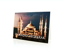 Ramadan Greeting Cards. Depicting The Blue Mosque in Istanbul, Turkey-BOX OF 10