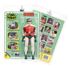 Batman 66 Classic TV Show Mego Style 8 Inch Figures Series 3: Robin (Rem. Mask)