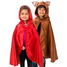 Kids Red Riding Hood / Wolf Reversible Fancy Dress Costume (3-8 yrs) Lucy Locket