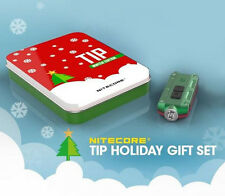 Holiday Gift Set: Nitecore Tip Winter Edition Rechargeable Key Light-Red/Green